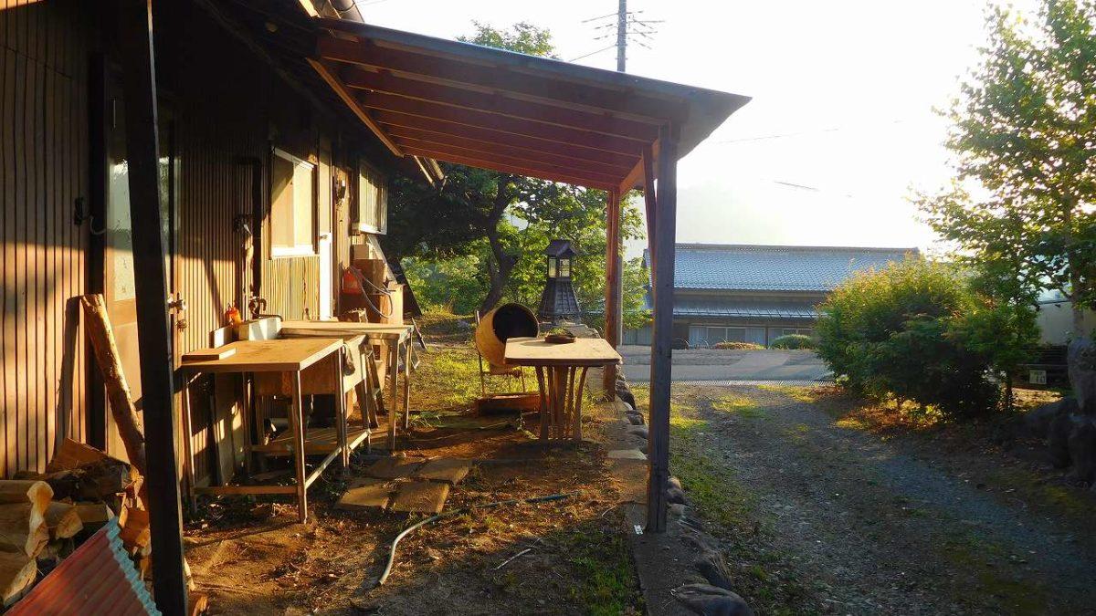 日本帰省記 06月03日(1)古民家2~宴の後朝
