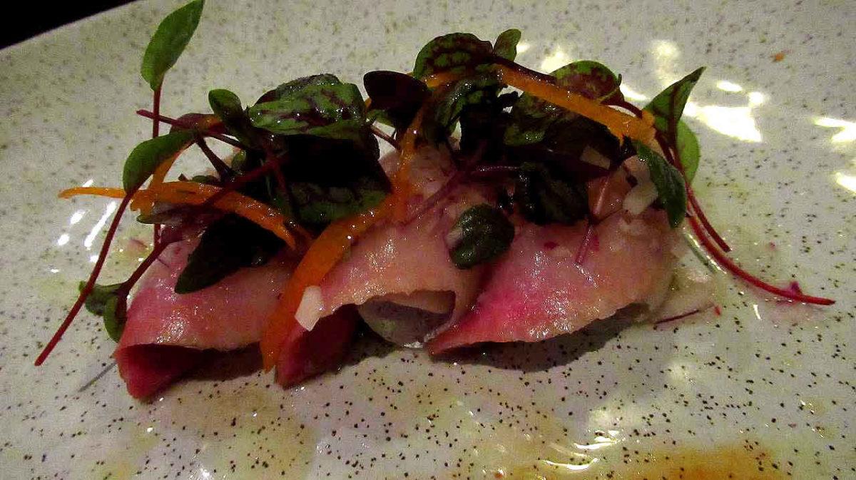 レストラン16(その3)~魚づくしの創作懐石コース