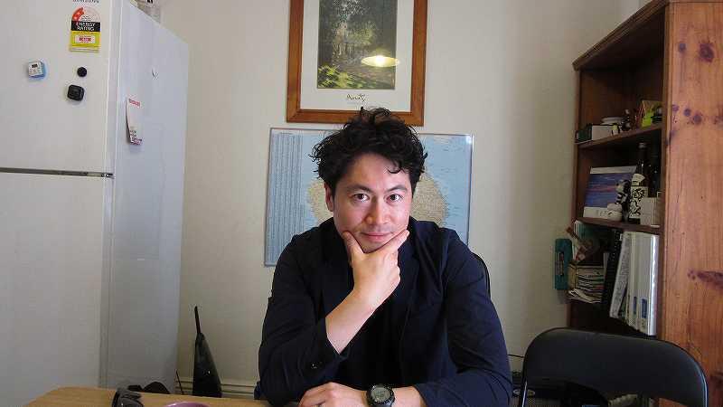 安藤大さん訪問