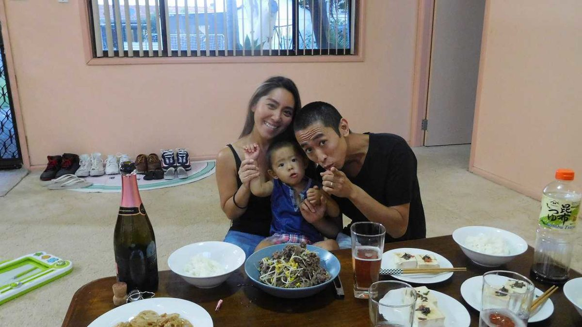 神木さんご一家への家庭訪問