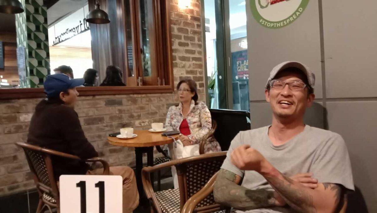 吉田さんとStrathfieldで韓国役肉の夕べ